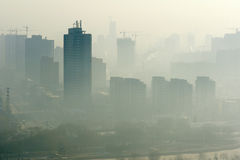Atmospheric pollution royalty free stock images