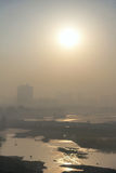 Atmospheric pollution Royalty Free Stock Photo