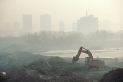 Atmospheric pollution Royalty Free Stock Photos