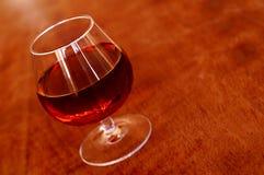 Atmospheric series II. Cognac glas - beautiful warm atmosphere Stock Photo