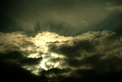 Atmospheric variation. Photographed on a late afternoon in spring Royalty Free Stock Photo