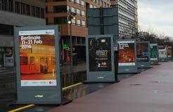 Atmosphäre nimmt an dem Berlinale teil Stockbilder