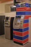 2 ATMs в крытом Стоковое Изображение RF