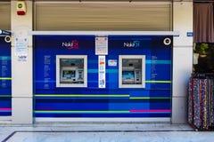 ATMs Finansbank Photos libres de droits