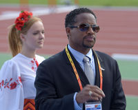 Ato Boldon on 8th IAAF World Youth Championships Stock Photos