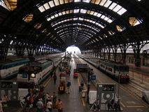 Atocha Ισπανία σταθμών τρένου Στοκ φωτογραφία με δικαίωμα ελεύθερης χρήσης