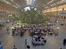 Atocha. Railway station of Atocha in Madrid, spain Royalty Free Stock Images
