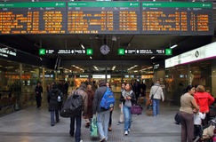 Atocha railway station Stock Photos