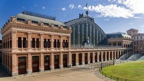 Atocha Railway Station, Madrid, Spain. Royalty Free Stock Images