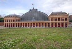Atocha Railway Station Madrid, Spain Royalty Free Stock Images