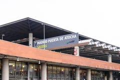 Atocha station Stock Image