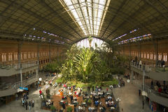 Atocha Train Station Stock Photography