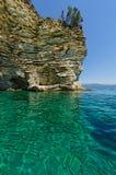Atokos海岛 免版税图库摄影