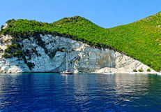 Atokos island coastline Royalty Free Stock Photography