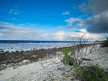 Atolón de Fakarava en Polinesia francesa Fotografía de archivo