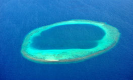 Atolón de Maldives Fotos de archivo
