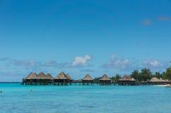 Atolón de Rangiroa, Polinesia francesa imagen de archivo