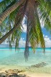 Atolón de Rangiroa, Polinesia francesa fotos de archivo libres de regalías