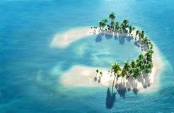 Atoll Stockfoto