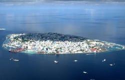 Atoll de Malè du ciel Images stock