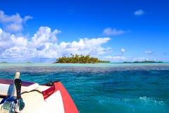 Atoll de Rangiroa images stock