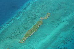 Atoll em Zanzibar Fotos de Stock