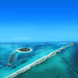 Atoll Islands Royalty Free Stock Image