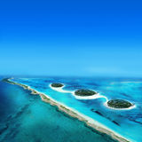 Atoll Islands Stock Photo