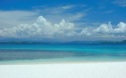 Atoll in the Pacific Ocean. Near Siargao, Philippines Stock Images