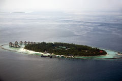 Atoll resort in the Maldives Stock Images
