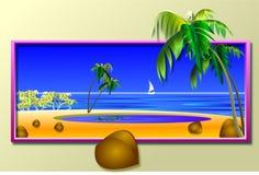 Atollo Fotografia Stock Libera da Diritti