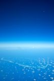 Atolls in the maldives islands royalty free stock images