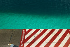 Atolls in Maldives, from view seaplane Royalty Free Stock Photography