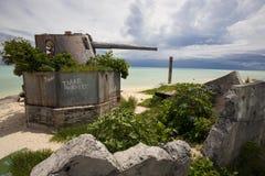 atolu betio Tarawa Zdjęcia Royalty Free