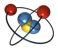 Atom-3 Photographie stock libre de droits