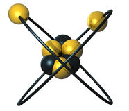 Atom-5 Royalty Free Stock Photo