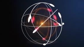 Atom royalty ilustracja