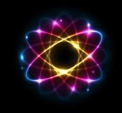 Atom - Abbildung Lizenzfreies Stockfoto