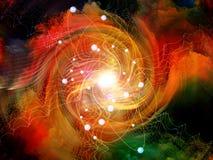 Atom Arrangement foto de archivo libre de regalías