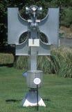 Atom- Art Sculpture på biosfär 2 på Oracle i Tucson, AZ royaltyfri bild