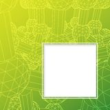Atom background. royalty free illustration