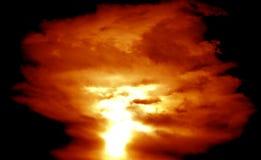 Atom bomb background Royalty Free Stock Image