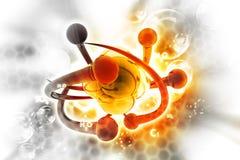 Atom concept Royalty Free Stock Photo