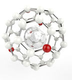 Atom Configuration 3 Royalty Free Stock Images