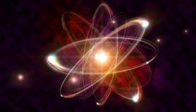 Atom cząsteczka Fotografia Royalty Free