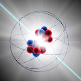 Atom fission Stock Image