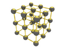 Atom_Grid Stock Photo