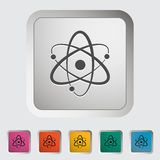 Atom icon Stock Image