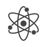Atom icon Stock Photos