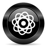 Atom ikona Fotografia Stock
